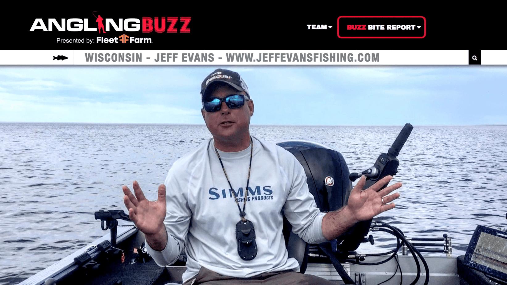 Northern Wisconsin Fishing Report – Jeff Evans (VIDEO)