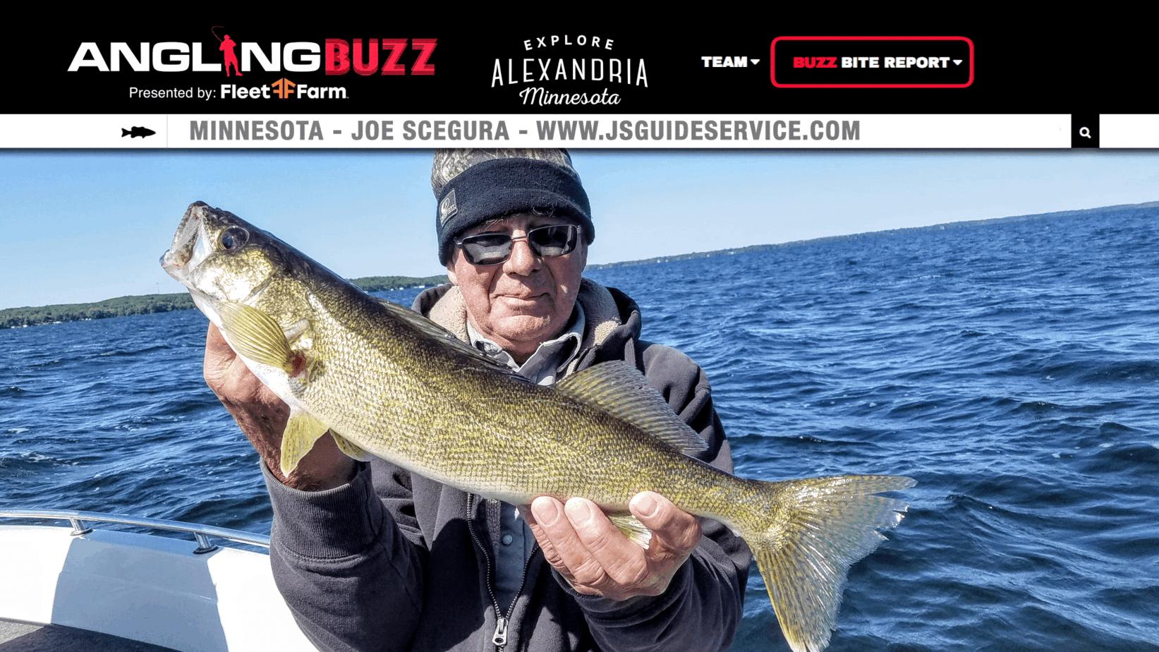 Alexandria Area (MN) Fishing Report – Joe Scegura