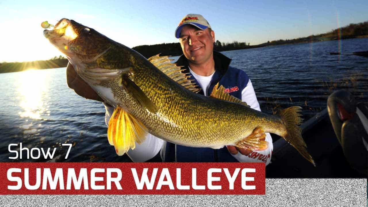 Summer Walleye Strategies – AnglingBuzz TV