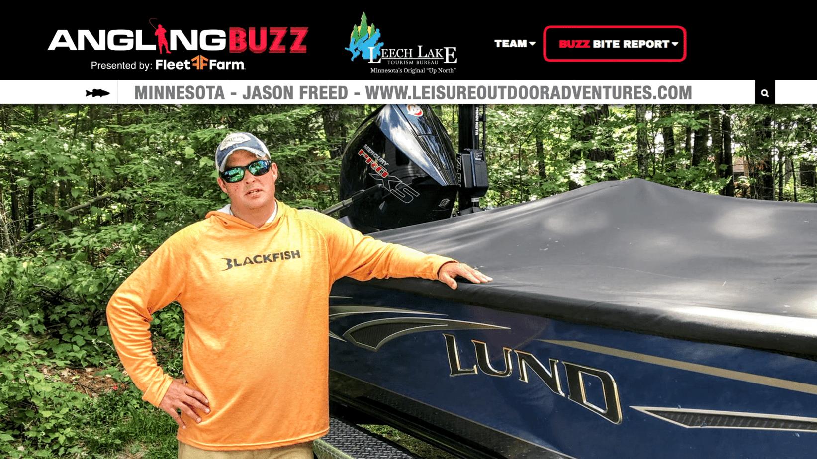 Leech Lake (MN) Fishing Report – Jason Freed