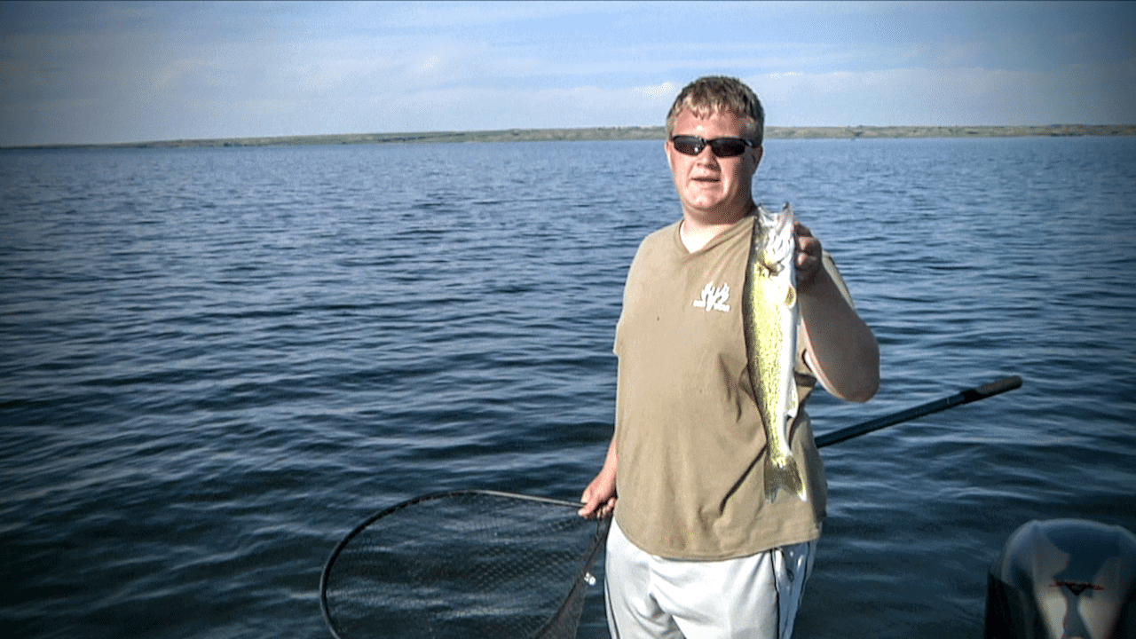 Lake Sakakawea (Van Hook Arm) Walleye Report – Peter Olson