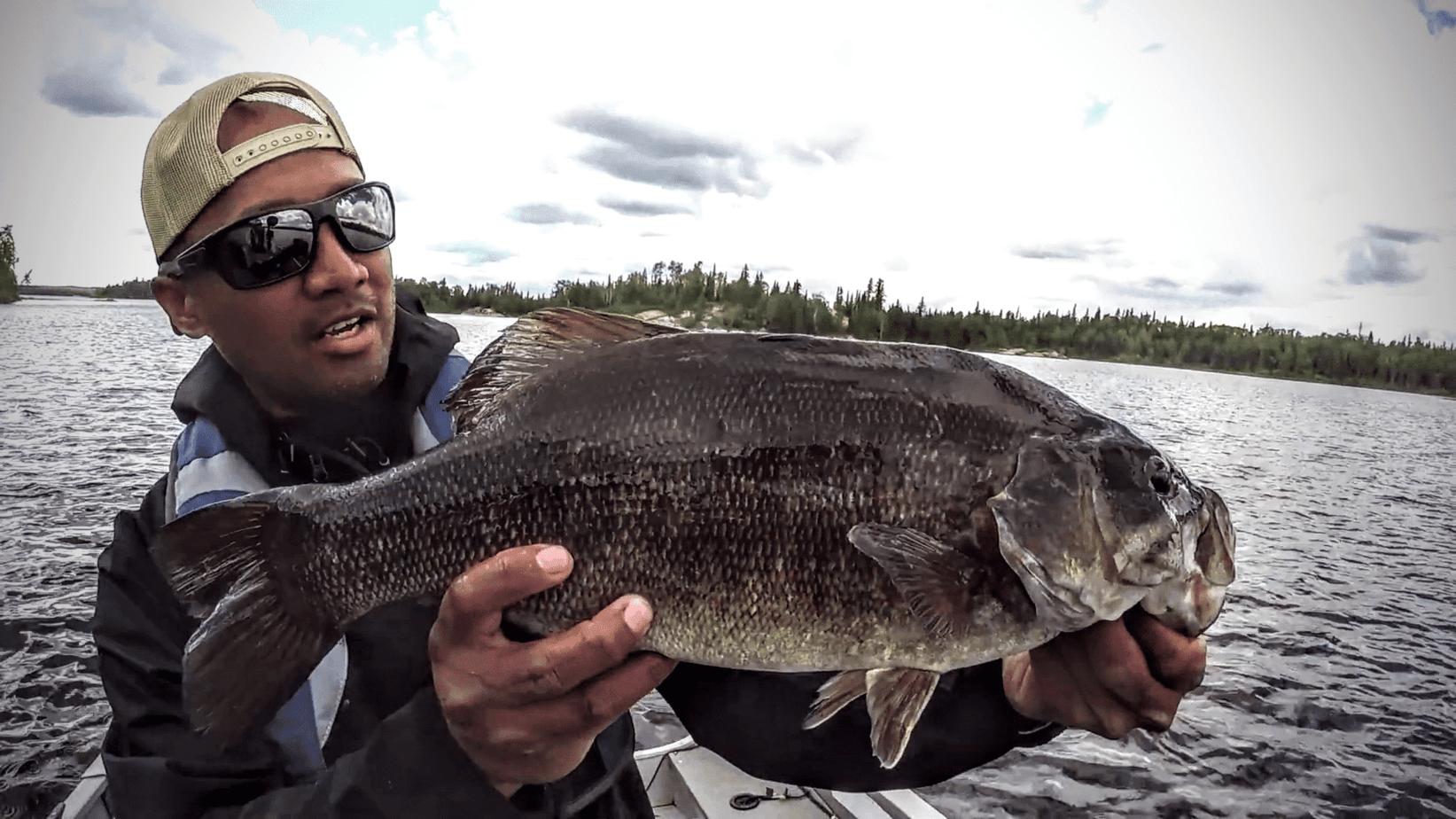 Trophy Smallmouth Bassin' at Q Lake Lodge