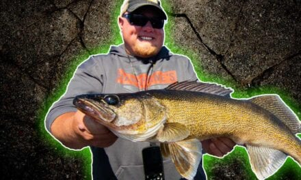 Simple Strategy for Catching Big Walleye