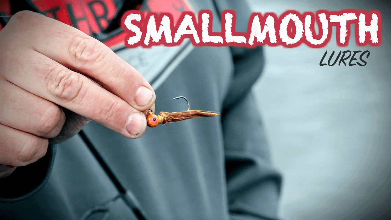 3 Smallmouth Lures for TOUGH Bites