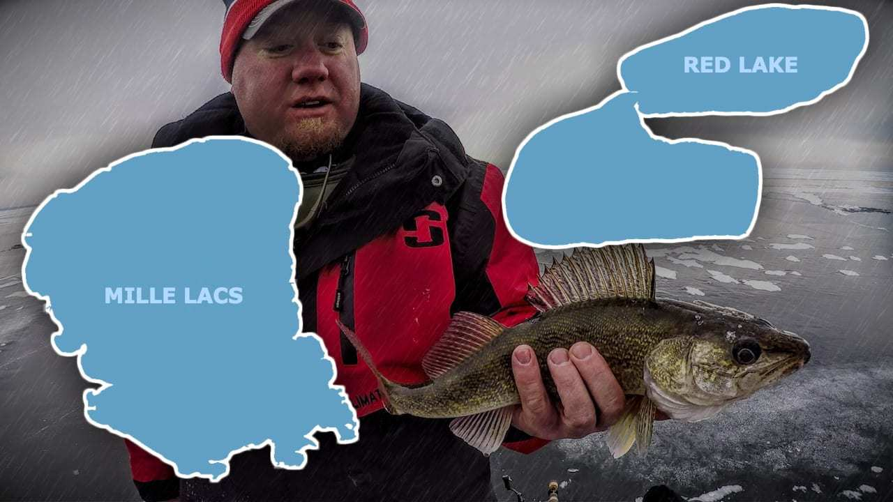 Red Lake vs. Mille Lacs for FIRST ICE