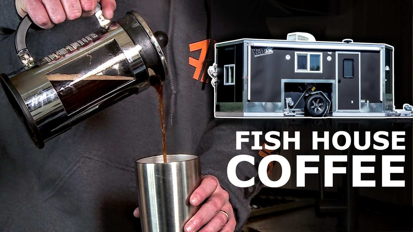 How to make Coffee in an Ice House