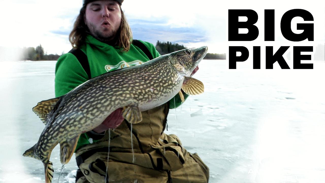 Manitoba Tip-Up Fishing