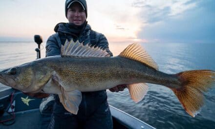 Green Bay Walleye Fishing Report from Doug Wegner