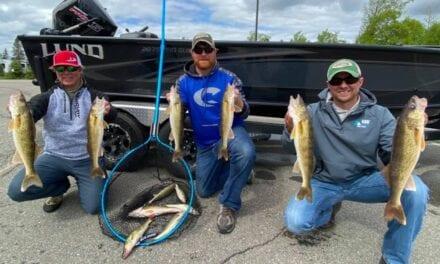 Fishing Report for Walleyes on Leech Lake
