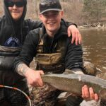 Fall Steelhead and Brown Trout in Rivers