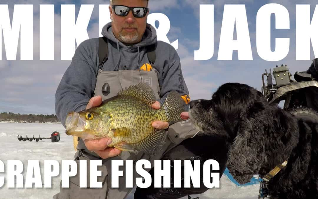 Late Ice Crappies on Mud Flats