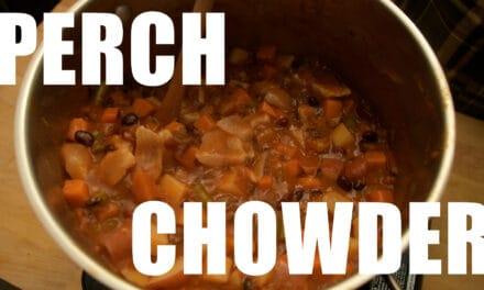 Perch Chowder Recipe