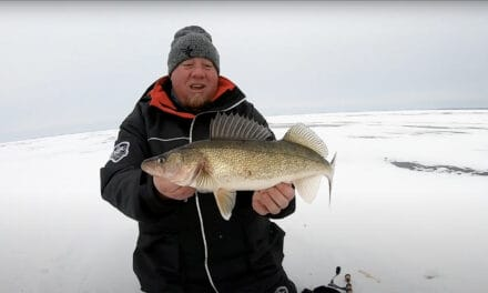 Humminbird MEGA 360 on Ice for Walleye